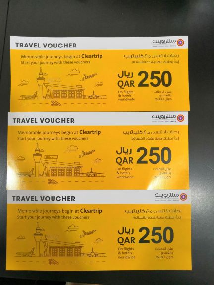 air ticket and hotel coupons