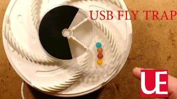 Electronic Housefly Trap