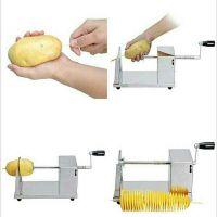 البطاطس الحلزونية