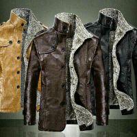 Winter Jackets  PU Leather