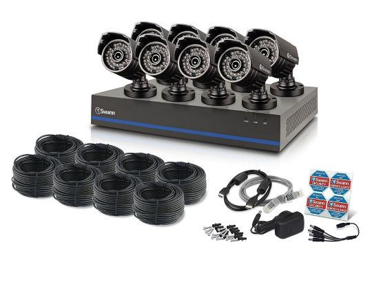 نظام كاميرات مراقبة كامل امريكي