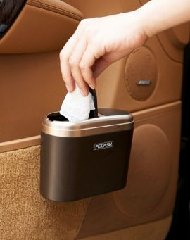 سلة مهملات للحفاظ على نظافة سيارتك