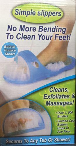 حذاء تنظيف قدم
