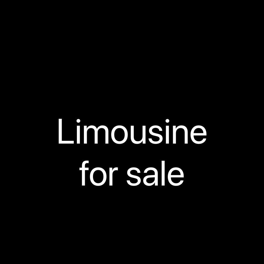 شركة ليموزين للبيع