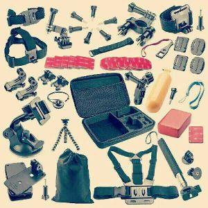كاميرة جوبرو عدة