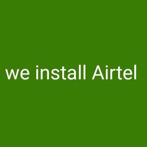 Airtel installation 80 QR