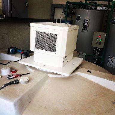 مبردات مياه الخزان + فلاتر مياه المنزل