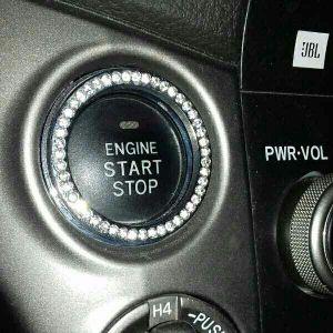 حلقات ألماسيه لزر تشغيل السيارة