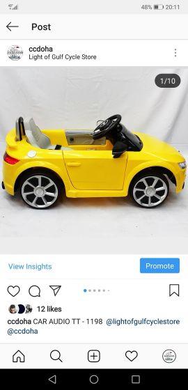 سيارة أودي تي تي جديدة