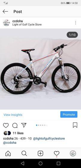دراجة كربون دكارون جديدة