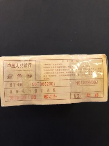 China banknote 1980