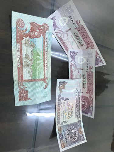 عملات قطر ورقيه