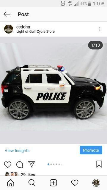 سيارة شرطة للأطفال جديد