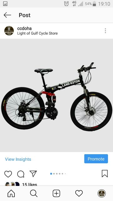 """دراجة """"٢٦ قابل طي جديدة"""