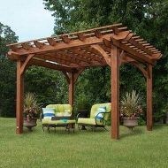 مظلات جلسات اكشاك خشبية