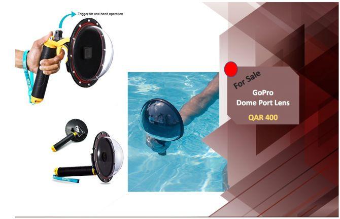 Dome Port Lens for GoPro