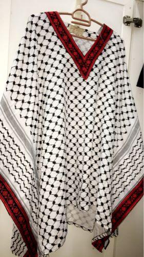 بلوزة تراثية فلسطينيه اردنيه لبيع