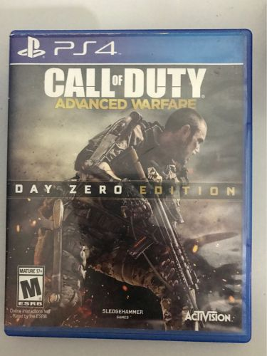 Cod advanced warfare ps4