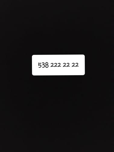 veryy good number  v.i.p
