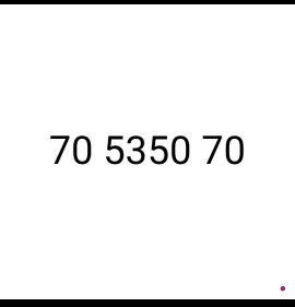 new vodafone fancy number 70 5350 70  pr