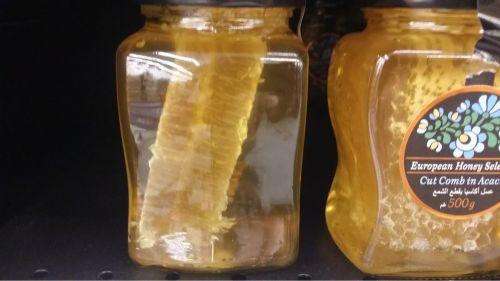عسل أوروبي مع خليه