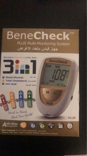 جهاز لقياس السكر والكوليسترول