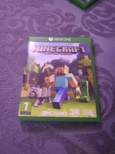 minecraft disc new xbox one