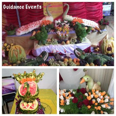 Fruits Carving for Party