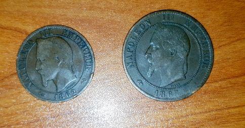عملات فرنسا نابليون الثالث
