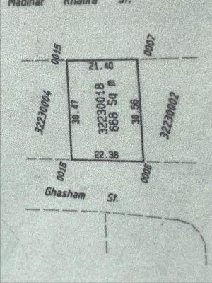 للبيع أرض تجارية في مدينة خليفه