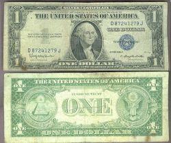 USA 1 Dollar 1957