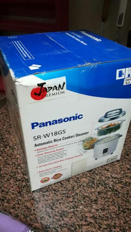 Panasonic Multi cooking rice & steaming