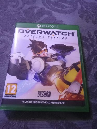 overwatch disc for xbox