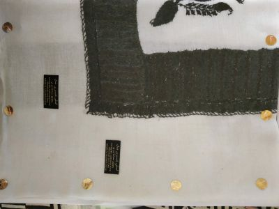 Turma 100% hand embroidery Kashmiri shal