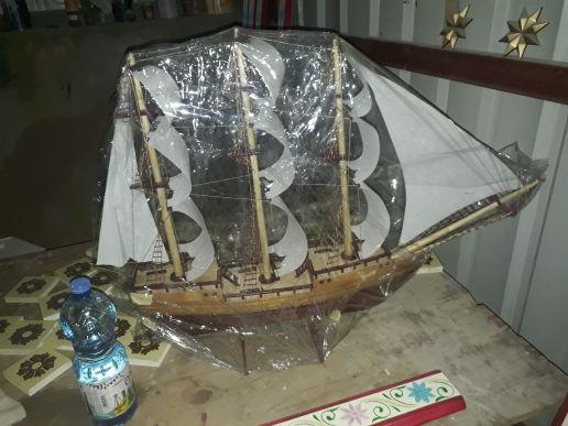 من اقدم السفن الشراعية