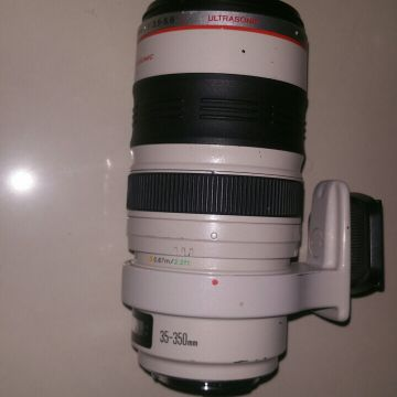 lens canon 30-350 mm. f3.5