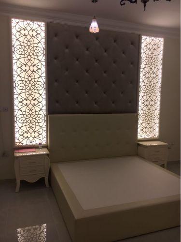 تفصيل غرف وجلسات وتنجيد حائط