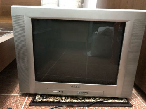 Tv and reciver for sale