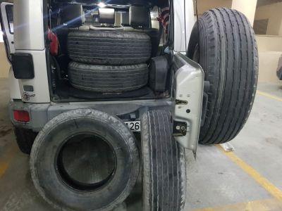 17inch desert tyres