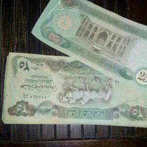 Iraqi dinars 1982