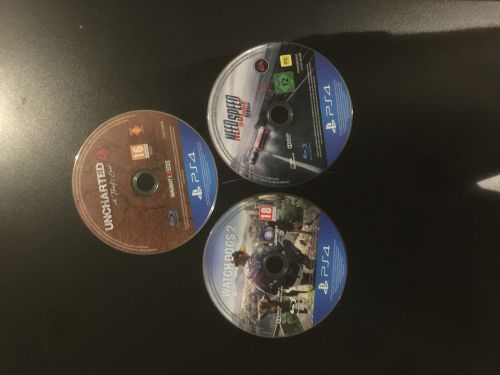 3 games for ps4