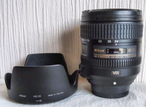Nikon 24-85VR FX & DX lens