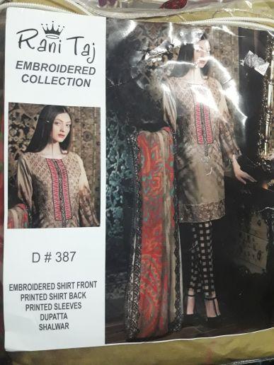 Pakistani branded suit