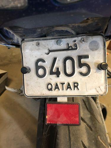 4 digit plate bike for sale