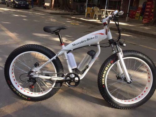 دراجة هوائية وكهربائية