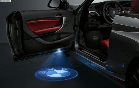 BMW & LEXUS door logo light