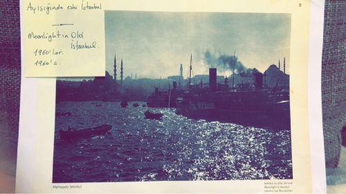 لوحه لمدينه اسطنبول القديمه