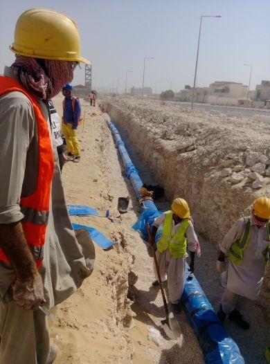 مقاولون أعمال البنية التحتية