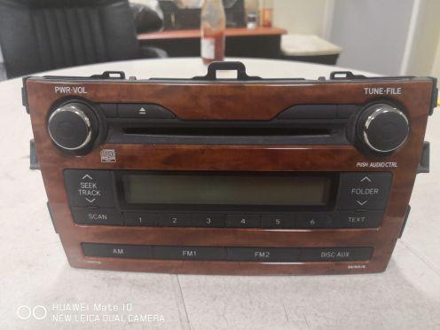 راديو سى دى كورولا ٢٠١٣ لم يستعمل