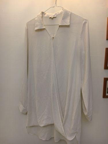قميص ابيض نسائي